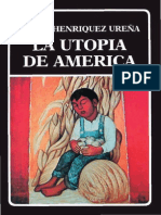 Henríquez Ureña - Utopía de America
