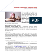 Oppositional Defiant Disorder - Discover A New Way to Deal with It