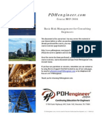 Basic Risk Management for Consulting Engineers