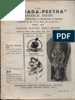 Sharada Peeth Research Papers VI - R K Kaw