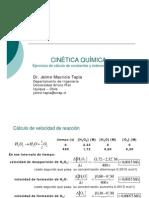 Ejercicios de Cinética Química