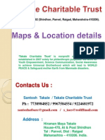 Contact Details & Map of Takale Charitable Trust.ppsx