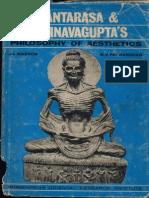 Santarasa and Abhinavagupta's Philosophy of Aestehtics