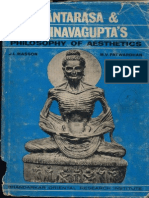 Santarasa and Abhinavagupta's Philosophy of Aestehtics