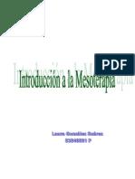 Mesoterapia Industria Farmaceutica