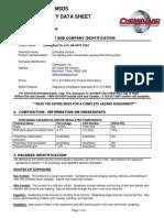 Foam Chemguard C363 MSDS