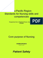 APEC Standards of Nursing Dec 2006 (Australia)