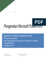 Pengenalan Microsoft PowerPoint