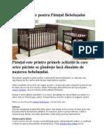 Accesorii utile pentru Patutul Bebelusului