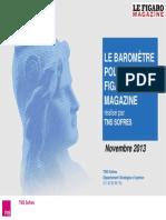 Baromètre politique - novembre 2013