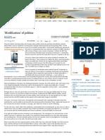 Karan Thapar - 'Modification' of politics.pdf