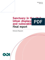 Sanctuary in the city? Urban displacement and vulnerability