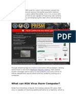 Remove NSA Virus Demanding $300 – Your Computer Has Been Locked