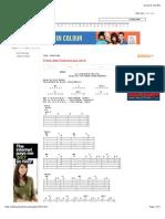 The Jam - Start chords