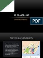 As Cidades - Cbd