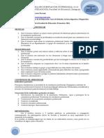 Programa de Orientaci n Profesional. 2011-2012