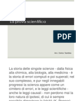 La prova scientifica
