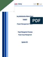 PM Processes - REV03 - ScopeNawzad.doc
