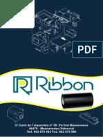 Ribbon SL - Catalogo de productos