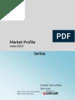Market Profile Serbia June 2013