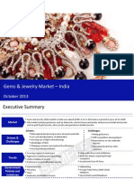 Market Research Report :Gems and jewelry market in india 2013