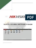 MANUAL ESPAÑOL SOFTWARE IVMS4200 POR JUAN FABIAN