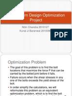 Bolt Pattern Optimization