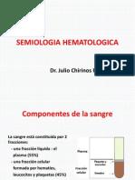SEMIOLOGIA HEMATOLOGICA