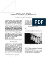 Polydactyly of the Foot. Literature Review and Case Presentations
