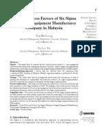 Vol 1 No 1 Pap 1 Critical Success Factors