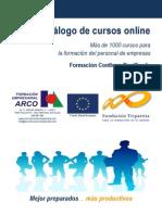 Catálogo Cursos 2013_Resumen