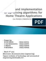 Design and implementation of Up-Mixing algorithms for Home.pptx