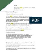 How We Write a Preci