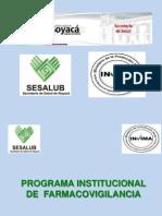 Charla Diapositiva Farmacovigilancia