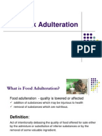 Milk Adulteration and Milk Properties