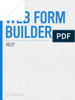 Web Form Builder Mac QSG
