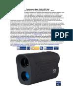 Telémetro láser PCE