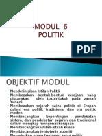 sains sosial bab 6-politik