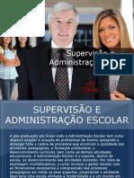 Pós-graduação em Supervisão e Administração Escolar - Grupo Educa+ EAD