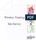 4757444 Wireless Training Site Survey