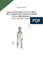 Tutoría Postura y Gestualidad