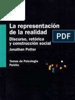52100536 Potter Jonathan La Representacion de La Realidad Discurso Retorica y Construccion Social