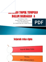 TOPIK TUMPUAN DALAM REKA CIPTA SPM_2013.pps