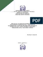 Analisis de Los Principios Normativos Del Procedimiento Administrativo -1