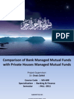 Comparison of Different Sectors of Mutual Fund