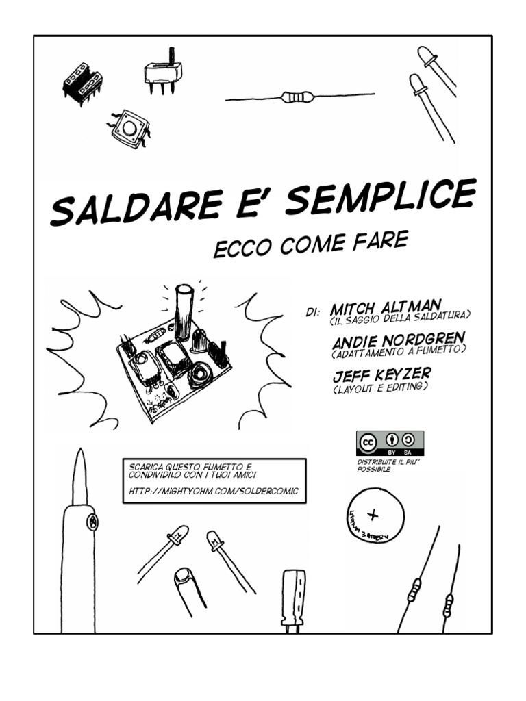 Saldare è Semplice Ecco Come Fare (tutorial).pdf