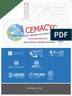 I Cemacyc, programación
