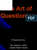 The Art of Questioning-Ppt