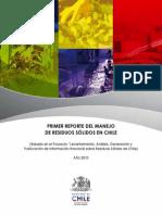 """""""Levantamiento, Análisis, Generación y Publicación de Información nacional sobre residuos Sólidos de Chile"""