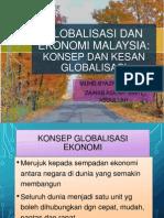 globalisasi dan ekonomi Malaysia
